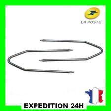 Clés extraction autoradio citroen renault fiat peugeot ford opel 4trous clef