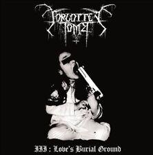 Forgotten Tomb - III: Love's Burial Ground CD 2015 digi reissue black doom