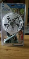 Battery operated fan portable