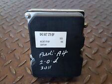 AUDI A4 B8 2.0 TDI DIESEL MANUAL 2011 ABS PUMP 8K0907379BF 8K0614517ED