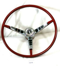 1965 1966 65 66  FORD MUSTANG STEERING WHEEL (WITH NEW HORN RING CONTACT KIT