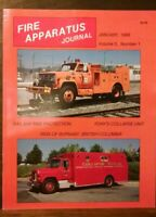 Fire Apparatus Journal Volume 5, Number 1, January 1988