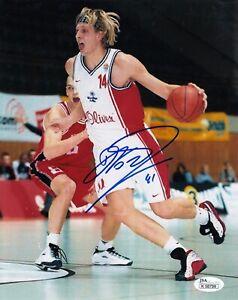 Dirk Nowitzki #0 8x10 Signed Photo W/JSA D J K Wurzburg