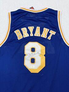 Kobe Bryant Signed Los Angeles Lakers #8 Hardwood Classics Jersey with COA