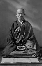 Framed Print - Kodo Sawaki Japanese Soto Zen Master (Picture Buddha Roshi Art)