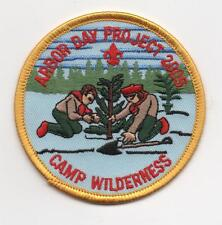 2005 Camp Wilderness Patch (Northern Lights Council), Arbor Day, Mint!