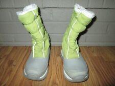 Girls LANDS END insulated waterproof boots sz 11