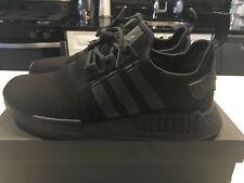 Adidas NMD R1 Runner 3M Triple Black Reflective BY3123 Boost Size 10 Rare<~~~~