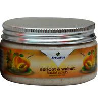Afflatus Apricot & Walnut Face Scrub 100gm for Healthy & Soften Skin