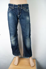 Guess Jeans 34 X 29 Pasadena Boot Men's Jeans Dark Wash Button Fly