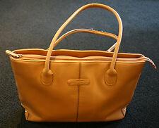 Pierre Cardin Tasche, elegante Handtasche, Shopper, caramel, 100 % Original