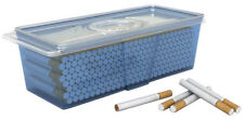 Plastic Container Safely Stores 220 Count Carton of Cigarette Filter Tubes 3039