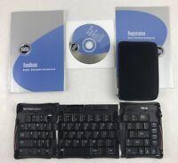 Palm Bundle: Portable Keyboard   + Case + Handbook +Software for Palm V Series