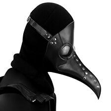 Plague Doctor Bird Mask Long Nose Beak Cosplay Steampunk Halloween Costume