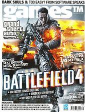 GAMES TM Magazine #135 BATTLEFIELD 4 Cyberpunk 2077 LIVINGSTONE vs MOLYNEUX @New