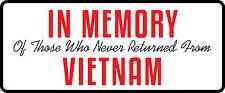 3 - In Memory Of Those  Hard Hat / Biker Helmet Sticker BS 1297