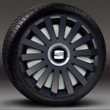 "4x15"" wheel trims, Hub Caps, Covers to fit Seat Ibiza,Leon,Toledo,Altea XL"