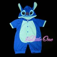 Stitch Baby Boy Romper Fancy Halloween Party Costume Outfit Size 9m-12m FC026