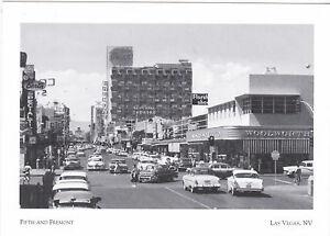 "Postcard-""Las Vegas, Nevada""...Fifth & Fremont--Today Las Vegas Blvd.- (G28)"