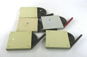 5x 8mm And Super8 Films With Film Containers On 120 M Reels 18 CM