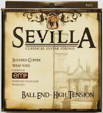 Sevilla Tie-End High Tension Classical Guitar Strings w Cleartone EMP