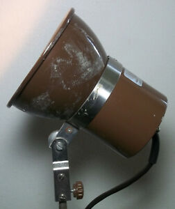 "Speedotron Brown Line MW3R Studio Flash Strobe Head 5.5"" Reflector Light Tested"