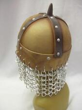 Viking Helmet ~ Saxon ~ Re-enactment ~ Chain mail ~ Warrior ~ One size