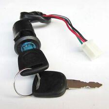 ATV Ignition Electric Door 4 Wires Dustproof Cap With 2 Keys Switch Lock