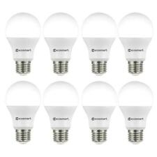 Ecosmart (8-Pack) 40w Replacement A19 Non-Dimmable Soft White LED Light Bulbs