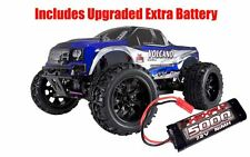 RedCat Racing Volcano EPX 4WD Monster Truck Blue - w/ Extra 5000mAh Battery