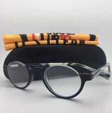 Readers EYE•BOBS Eyeglasses VICE CHAIR 2447 18 +2.00 Black Frame w/ Horn Temple