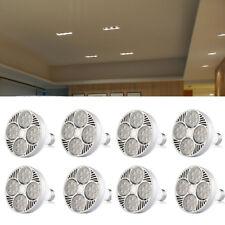 8 Pack - 35Watt LED PAR30 Flood Light Bulb E27 Medium Base 4000K Daylight White