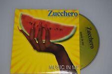 Zucchero Sugar Fornaciari – Music In Me. CD-Single Promo (ESP)