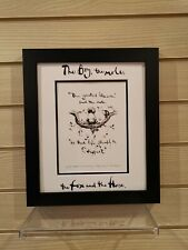 Charlie Mackesy book extract framed. The boy, the mole,the fox and the horse 27