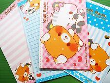 12+6 Kids Room Letter Set Envelope Colorful Writing Fancy Paper FREE SHIP Japan