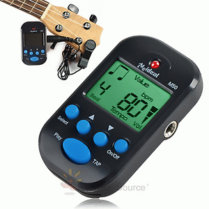 New Mini MeIdeal Portable Digital Beat Tempo LCD Clip-on Mini Metronome #398