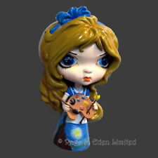 ALICE IN THE STARRY NIGHT Strangeling Vinyl Doll By Jasmine Becket-Griffith  9cm