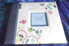 REFILLABLE MEMORY SCRAPBOOK, 20 TOP LOADING PAGES, 30.5 x 30.5 cm, COVER PHOTO