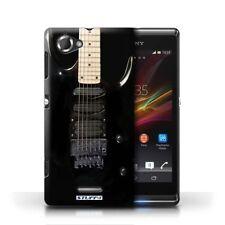 Étuis, housses et coques noir Sony Sony Xperia L pour téléphone mobile et assistant personnel (PDA)