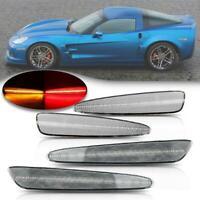 2005-2013 C6 Corvette Clear Lens Laser LED Side Markers