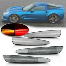 2005-2013 C6 Corvette Clear Lens Laser LED Side Markers
