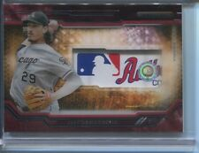 2015 TOPPS STRATA JEFF SAMARDZIJA CLEARLY AUTHENTIC RELIC CARD LAUNDRY TAG 1/1