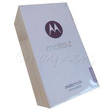 "(NUOVO; SCATOLA APERTA) Motorola Moto Z Nero Senza Sim 5.5"" 535ppi 32 GB 4 GBRAM XT1650"