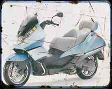Aprilia Atlantic 500 3 A4 Metal Sign Motorbike Vintage Aged