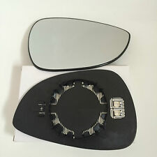 Ford Fiesta 2008-17 Right Side Heated Wing Mirror/Door Glass Clip On Top Quality