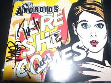 The Androids Here She Comes Signed Autographed Australian CD Single – Like New