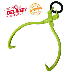 Lifting Skidding Tongs for Poles Logs Durable Tool 16 Inch 1500 lb Capacity NEW