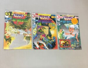 Ms. Mystic 1-3 Complete Set Sealed w/ Cards Continuity Comics Neal Adams (MM03)