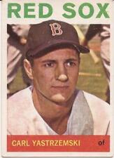 1964 TOPPS # 210 - CARL YASTRZEMSKI - BOSTON RED SOX - EX