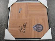 2009 Final Four Signed Roy Williams Floor
